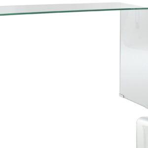Mesa consola de vidro