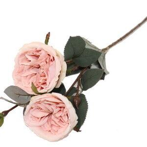 Flor Rosa com 2 hastes