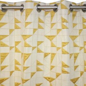 par cortinado amarelo pop